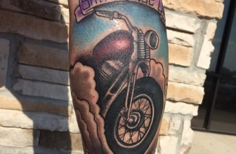 85+ Fearless Outlaw Biker Tattoo Designs & Meanings – For Brutal Men (2018)