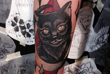 45 Mysterious Black Cat Tattoo Ideas – Are They Good Or Evil?