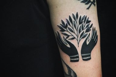 75+ Spectacular Black & White Tattoo Designs & Meanings – Minimalistic Solutions (2017)