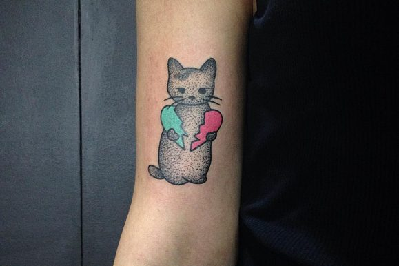 80+ Cute Cat Tattoo Designs & Meanings – Spiritual Luck (2018)