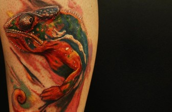 60+ Colorful Chameleon Tattoo Ideas – Cheerful Designs That Will Make You Smile