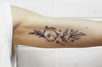 70+ Lovely Constellation Tattoo Ideas- Where Mysteries of the Universe Meet Body Art