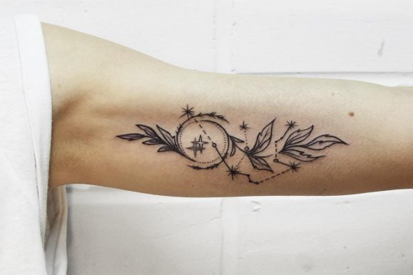 50 Lovely Constellation Tattoo Ideas- Where Mysteries of the Universe Meet Body Art