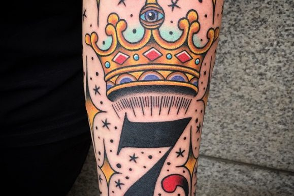 55 Best King And Queen Crown Tattoo – Designs & Meanings (2019)