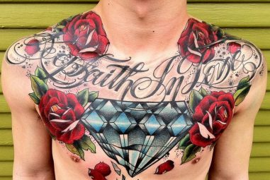 75+ Luxury Diamond Tattoo Designs & Meanings – Treasure for You (2019)