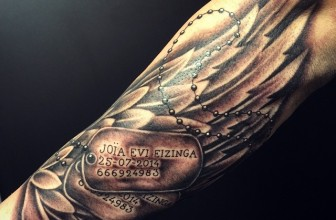 45 Inspirational Dog Tag Tattoo Designs – What Makes Them So Special?