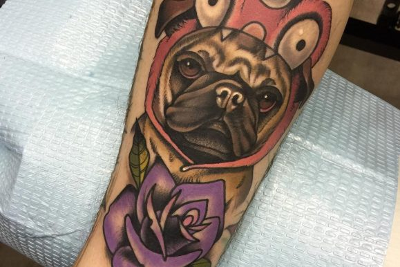 65 Admirable Dog Tattoo Ideas – Designs For Men And Women