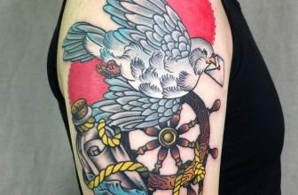 75+ Creative Dove Tattoo Designs and Symbolic Meaning – Peace & Harmony (2019)