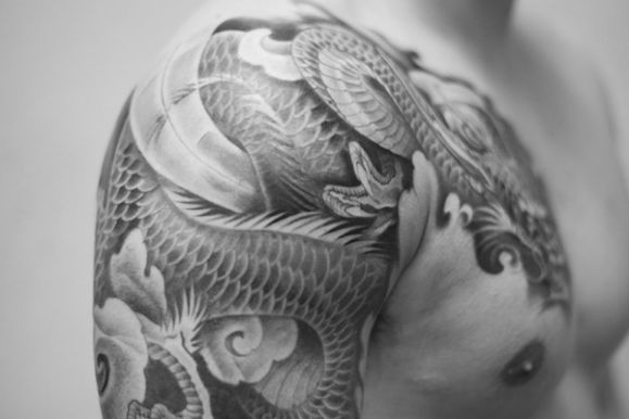 75+ Unique Dragon Tattoo Designs & Meanings – Cool Mythology (2018)