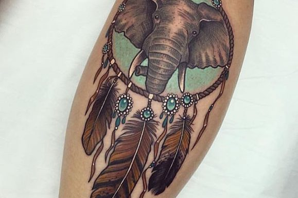 80+ Mysterious Dreamcatcher Tattoo Designs & Meanings – Dive Deeper (2020)