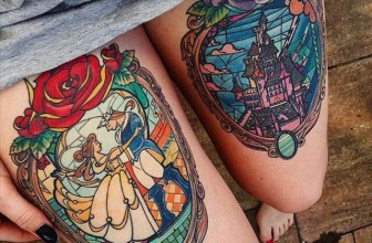 75 Dazzling Stained Glass Tattoo Ideas – Nothing Less Than a Work of Art