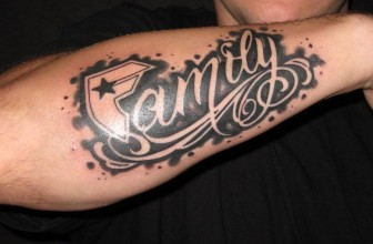 55 Adorable First Family Tattoo Ideas For Men and Women (2019)