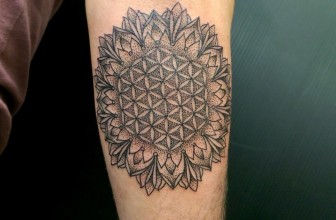 105+ Cool Flower of Life Tattoo Ideas – The Geometric Pattern That Holds The Secrets