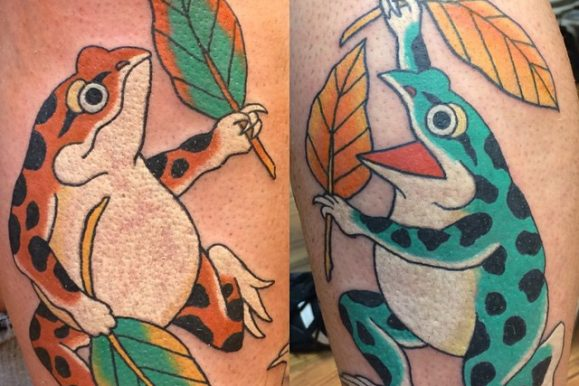 80+ Lucky Frog Tattoo Designs – Meaning & Placement (2018)