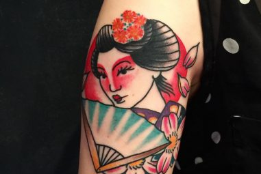 70+ Colorful Japanese Geisha Tattoo – Meaning and Designs 2017