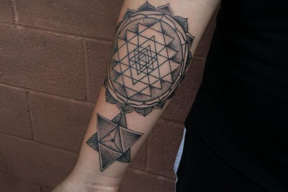 80 Spiritual Geometric Tattoo Designs – Shapes & Patterns