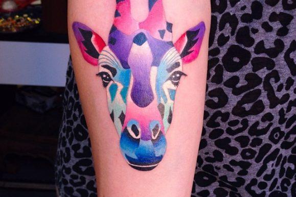 120+ Elegant Giraffe Tattoo Designs & Meanings – Wild Life on Your Skin (2019)