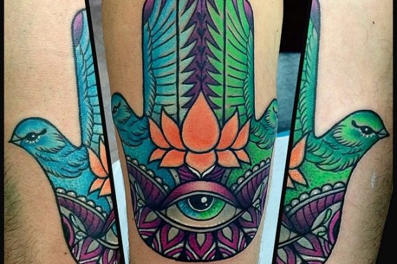 60 Spiritual Hamsa Tattoo Meaning and Designs – Symbol Of Protection