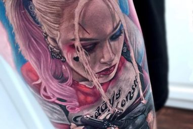 60+ Quirky Harley Quinn Tattoo Ideas – Bring Out Your Inner Harlequin