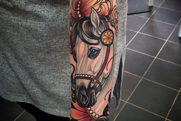80+ Gorgeous Horse Tattoo Designs & Meanings – Natural & Powerful (2019)