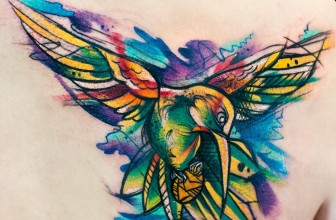 80+ Stunning Watercolor Hummingbird Tattoo – Meaning and Designs (2018)