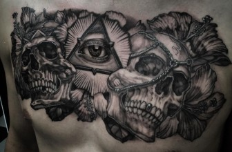 60+ Mysterious Illuminati Tattoo Designs – Enlighten Yourself