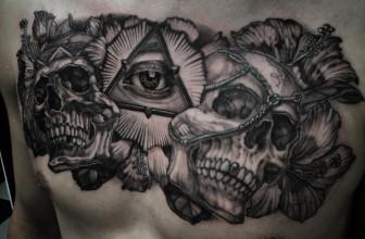 60+ Mysterious Illuminati Tattoo Designs – Enlighten Yourself