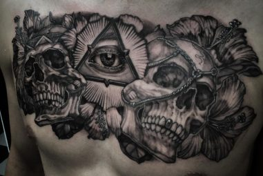40 Mysterious Illuminati Tattoo Designs – Enlighten Yourself