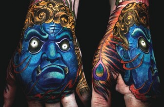 40 Redoubtable Japanese Mask Tattoos – Designs and Ideas (2018)