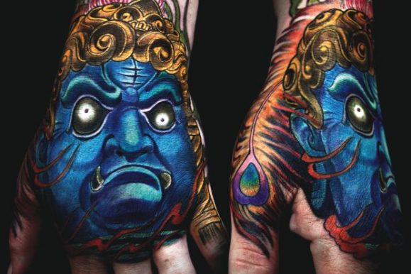 40 Redoubtable Japanese Mask Tattoos – Designs and Ideas (2020)