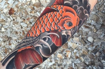 45 Traditional Japanese Koi fish Tattoo Meaning and Designs – True Colors