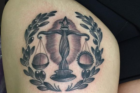 75 Extraordinary Libra Tattoo – Designs & Meaning