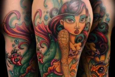 90+ Creative Little Mermaid Tattoos – Designs & Meaning