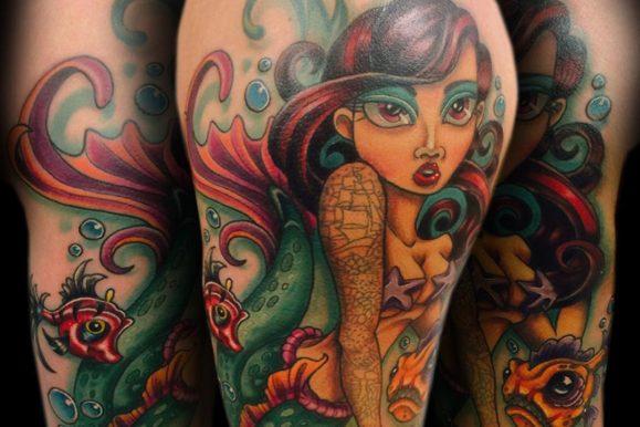 90+ Creative Little Mermaid Tattoos – Designs & Meaning