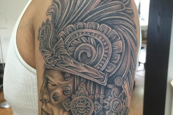 50 Amazing Mexican Tattoo Designs & Meanings – Skulls, Mafia, Eagles, Flag, Gang (2019)