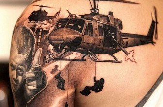 85 Strong Powerful Military Tattoos – Types , Meaning  , Policy