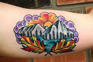 80+ Spectacular Mountain Tattoo – Designs and ideas for All Ages