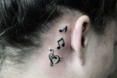 75+ Marvelous Music Note Tattoo Ideas – For Those Who Is In Love With Music