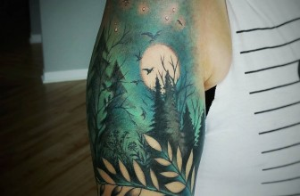 105 Spectacular Attractive Nature Tattoo – Designs & Meanings