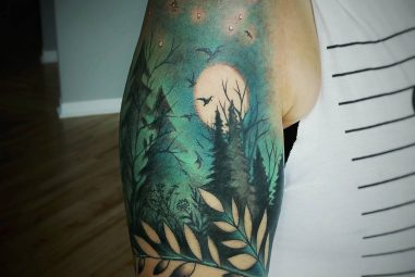 125+Spectacular Attractive Nature Tattoo – Designs & Meanings of 2017