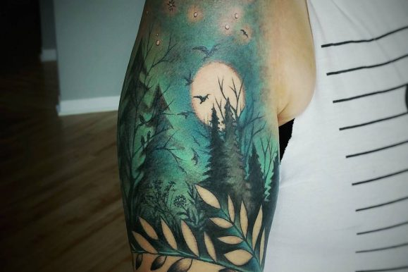 125+Spectacular Attractive Nature Tattoo – Designs & Meanings (2019)
