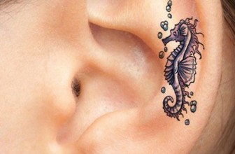 55+ Excellent Mini Ear Tattoo Designs & Meanings- Powerful Ideas (2019)