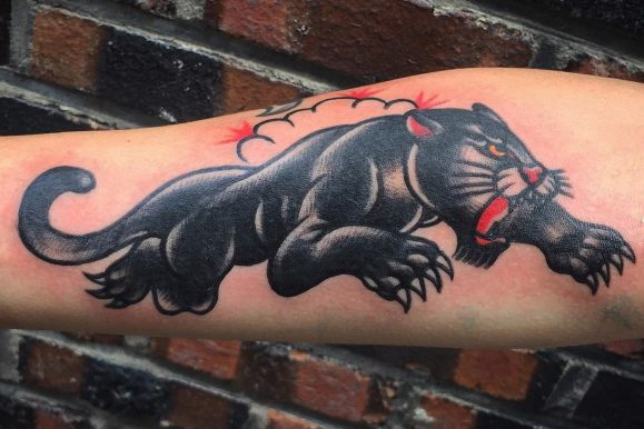 120+ Elegant Black Panther Tattoo Designs & Meanings – Gracefulness in Every Move (2018)