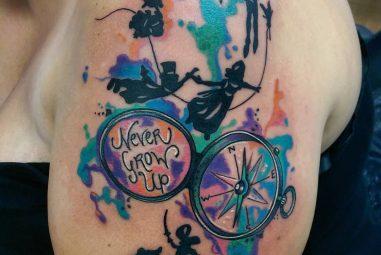70+ Elegant Peter Pan Tattoo Designs & Meanings – Top of 2017