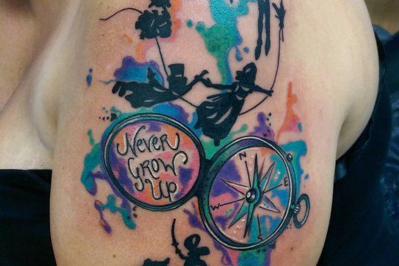 70+ Elegant Peter Pan Tattoo Designs & Meanings – Top of 2019