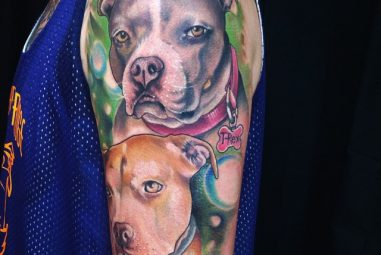 70+ Pitbull Tattoo Snouts Meanings and Designs – We Love Dogs