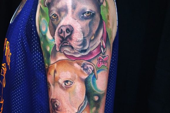 50 Pitbull Tattoo Snouts Meanings and Designs – We love Dogs