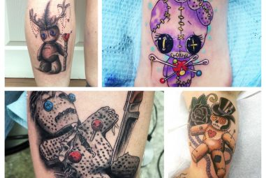 40+ Magical Voodoo Tattoos – Dolls , Monkeys And Many Others