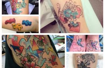 75+ Unique Exclusive Puzzle Pieces Tattoos – Designs & Meanings (2019)