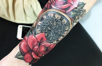 125+ Timeless Pocket Watch Tattoo Ideas – A Classic and Fashionable Totem
